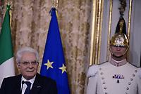 Roma, 20 Giugno 2017<br /> Sergio Mattarella<br /> Quirinale<br /> Visita di Stato dei Reali dei Paesi Bassi in Italia