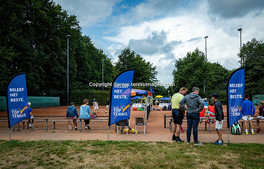 Hilversum, Netherlands, Juli 31, 2019, Tulip Tennis center, National Junior Tennis Championships 12 and 14 years, NJK, Doubles:<br /> Photo: Tennisimages/Henk Koster