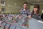 Redrow Homes Afon Gardens<br /> Donna James &amp; Christopher Jenkins<br /> 03.05.14<br /> &copy;Steve Pope-FOTOWALES
