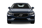Car photography straight front view of a 2018 Volvo XC60 Momentum 5 Door SUV