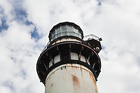 The iron work that constitutes much of the upper portion of the Pigeon Point Lighthouse is at the heart of what needs repair, renovation, before the lightstation can, again, be opened to the public.