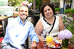 "COCONUT GROVE, FL - MARCH 30: Philip Georggi and Nevine Georggi attend the Women's International Film Festival 2014 - Brunch and the screening of ""Brave Miss World"" also received the awards for the best films of the festival on March 30, 2014 in Coconut Grove, Florida. (Photo by Johnny Louis/jlnphotography.com)"