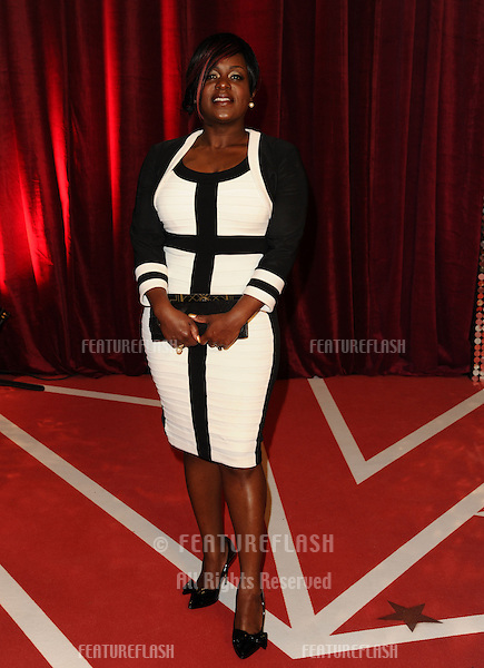 Tameka Empson arriving for the British Soap Awards 2013, at Media City, Manchester. 18/05/2013 Picture by: Steve Vas / Featureflash