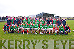 South Kerry Senior Football Finalists St Michaels/Foilmore, front l-r; Mark O'Sullivan, Joe Harty, Brian Galvin, Mark Griffin, Adrian O'Connell, Cian O'Connor, Roger Harty, Eanna O'Connor, Sean Fogarty, Colin Grandfield, Michael Galvin, Brian Smith, Cormac O'Sullivan, back l-r; James Moran, Sean O'Connor, Patrick O'Sullivan, Sean O'Shea, Damien Kelly, Max Thieman, Padraig King, D.J. Moran, Kieran Grandfield, Bernard Kelly, Alan Smith, Joe O'Sullivan, Ronan O'Connor, Brendan Galvin & Emmet Curran.