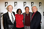 LOS ANGELES - JAN 28: Ken Kragen, Marcia Thomas, Smokey Robinson, Paul Brownstein at the 30th Anniversary of 'We Are The World' at The GRAMMY Museum on January 28, 2015 in Los Angeles, California