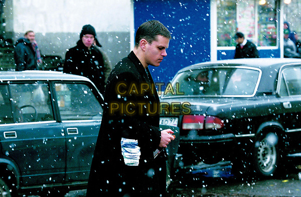 The Bourne Supremacy (2004)<br /> Matt Damon<br /> *Filmstill - Editorial Use Only*<br /> CAP/KFS<br /> Image supplied by Capital Pictures