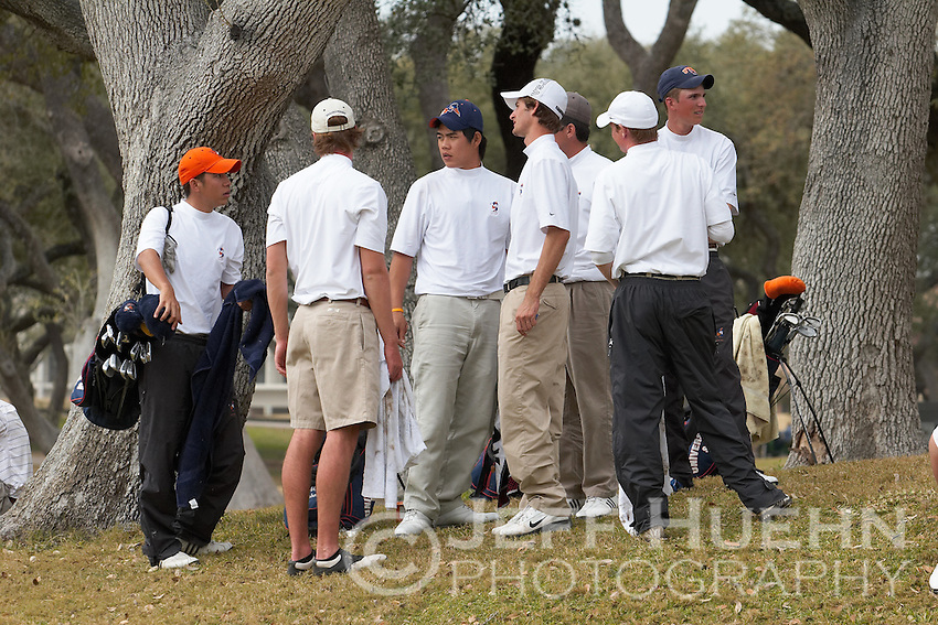 SAN ANTONIO, TX - FEBRUARY 19-20, 2007: The University of Texas at San Antonio Intercollegiate Men's Golf Tournament at Oak Hills Country Club. (Photo by Jeff Huehn)