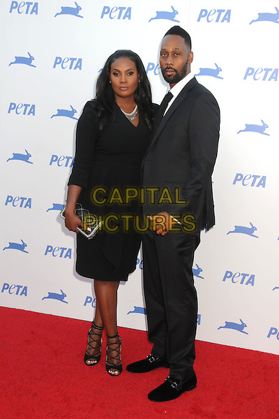 30 September 2015 - Hollywood, California - Talani Rabb, RZA. PETA 35th Anniversary Gala held at the Hollywood Palladium. <br /> CAP/ADM/BP<br /> &copy;BP/ADM/Capital Pictures