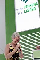 Roma, 29 Giugno 2017<br /> Annamaria Furlan<br /> Palazzo dei Congressi<br /> XVIII Congresso confederale CISL