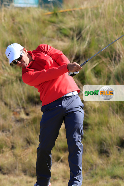 Paul CASEY (ENG) tees off the 6th tee during Friday's Round 2 of the 2015 U.S. Open 115th National Championship held at Chambers Bay, Seattle, Washington, USA. 6/19/2015.<br /> Picture: Golffile | Eoin Clarke<br /> <br /> <br /> <br /> <br /> All photo usage must carry mandatory copyright credit (&copy; Golffile | Eoin Clarke)