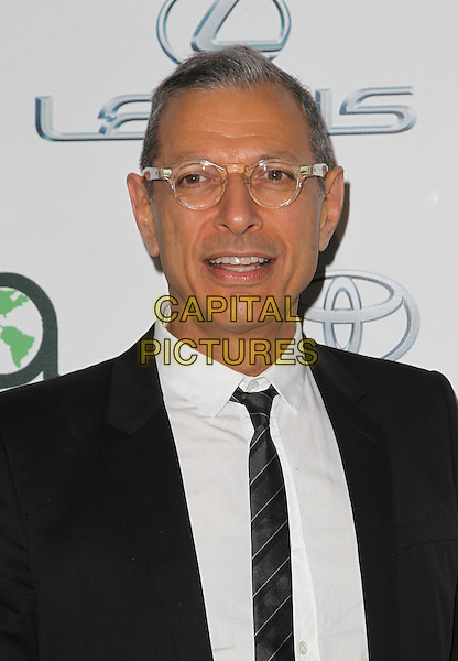 18 October 2014 - Burbank, California - Jeff Goldblum 24th Annual Environmental Media Awards Presented By Toyota And Lexus Held at The Warner Brothers Studios.   <br /> CAP/ADM/FS<br /> &copy;Faye Sadou/AdMedia/Capital Pictures
