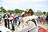 IMSA WeatherTech SportsCar Championship<br /> Chevrolet Sports Car Classic<br /> Detroit Belle Isle Grand Prix, Detroit, MI USA<br /> Saturday 3 June 2017<br /> 93, Acura, Acura NSX, GTD, Andy Lally, Katherine Legge<br /> World Copyright: Richard Dole<br /> LAT Images<br /> ref: Digital Image RD2_1956