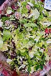Salad, Campo Market, Rome, Italy, Europe