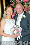 Kate McCarthy, daughter of Denis and Mary, Park Drive, Killarney and Niall O'Mara, son of Edna and the late Con, High Street, Killarney, who were married on Saturday in St Mary's Cathedral, Killarney. Fr Paddy Donoghue officiated at the ceremony. Best man was Patrick Landers. Bridesmaid was Sheila Murphy. Flowergirl was Roísín McCarthy. Pageboy was Cathal Sugrue. The reception was held in the Dromhall Hotel, Killarney and the couple will reside in Kilcummin, Killarney.