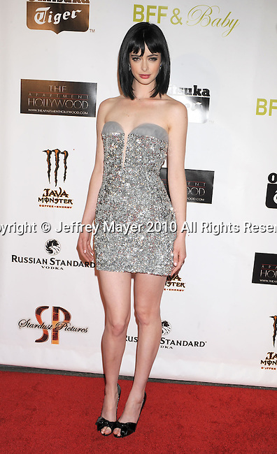 """HOLLYWOOD, CA. - November 17: Krysten Ritter arrives at the """"BFF & Baby"""" Official Film Wrap Party at the Colony on November 17, 2010 in Hollywood California."""