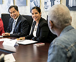 Esteban Visits President's Diversity Council September, 2017