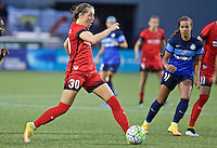 Portland, Oregon - Saturday July 9, 2016: Portland Thorns FC midfielder Celeste Boureille (30) during a regular season National Women's Soccer League (NWSL) match at Providence Park.