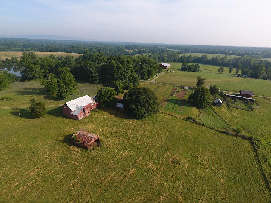 Bracketts Farm located in Louisa, Virginia. Photo/Andrew Shurtleff