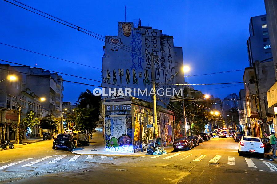 Ruas no bairro Bela Vista ou Bexiga, Sao Paulo. 2017. Foto de Juca Martins.