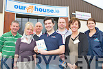 Some of the exhibitors at the ourhouse.ie show in Whitegates, Killarney on Saturday l-r: Kevin Griffin Munster Spray Foam Killarney, Connie de Groot Kerry Drain Services, Hans de Groot Kerry Drain Services, Brian Kelleher ourhouse.ie, Leszek, Zvchowski Sliding Wardrobes, Mag McCarthy Rainbow Cleaning System and Niamh MacDonagh TJ Cross Well Drilling Killarney....