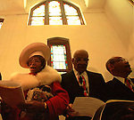 ATL2---EBENEZER CHURCH--FOR JEREMIAH BOGERT-(3/7/99).Members of Ebenezer Baptist Church in Atlanta worship for the last time at the old, historic building on Auburn Ave. in downtown Atlanta. After this service, they walked accross the street to open the new building.For Kevin Sack story. (Photo by Alan S. Weiner for The New York Times)