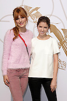 Bella Thorne, Anna Kendrick<br /> at LoveGold Honors Michelle Dockery for a day of gold and glamour, Selma House, Los Angeles, CA 01-09-14<br /> David Edwards/Dailyceleb.com 818-249-4998