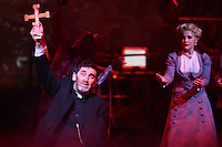 "Jimmy Nail and Heidi Range<br /> in the musical of ""The War of the Worlds"" at the Dominion Theatre, London.<br /> <br /> <br /> ©Ash Knotek  D3083 12/02/2016"
