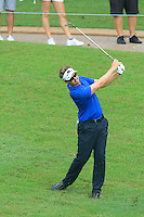 Rikard Karlberg (SWE) on the 5th during Round 3 of the CIMB Classic in the Kuala Lumpur Golf & Country Club on Saturday 1st November 2014.<br /> Picture:  Thos Caffrey / www.golffile.ie