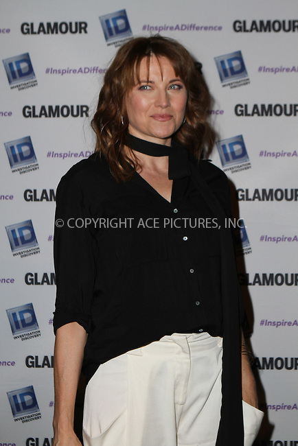 WWW.ACEPIXS.COM<br /> <br /> October 22 2015, New York City<br /> <br /> Lucy Lawless at the Invetigation Discovery and Glamour Inspire a Difference event at the Dream hotel Downtown on October 22 2015 in New York City<br /> <br /> By Line: Nancy Rivera/ACE Pictures<br /> <br /> <br /> ACE Pictures, Inc.<br /> tel: 646 769 0430<br /> Email: info@acepixs.com<br /> www.acepixs.com