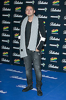 Chris Cab attend the 40 Principales Awards at Barclaycard Center in Madrid, Spain. December 12, 2014. (ALTERPHOTOS/Carlos Dafonte) /NortePhoto