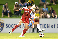 Boyds, MD - Saturday April 29, 2017: Arielle Ship, Rachel Daly during a regular season National Women's Soccer League (NWSL) match between the Washington Spirit and the Houston Dash at Maureen Hendricks Field, Maryland SoccerPlex. The Dash won 1-0.