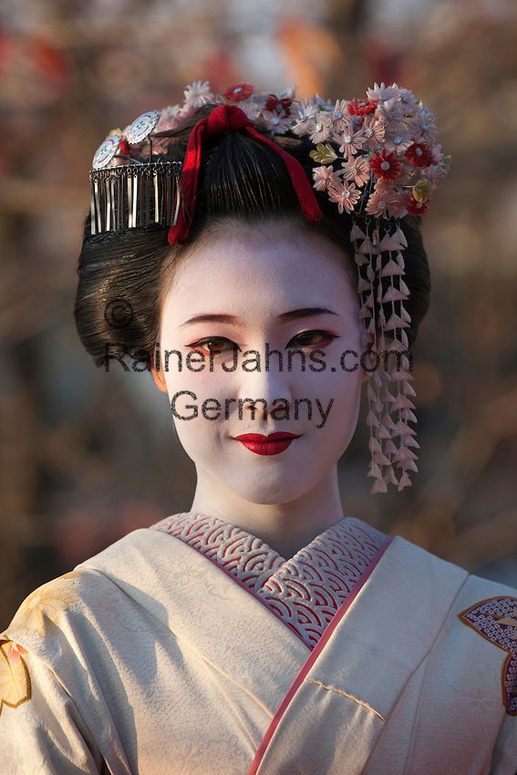 Japan, West Honshu, Kansai, Kyoto: Japanese Geisha   Japan, West-Honshu, Kansai, Kyoto: japanische Geisha