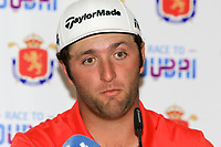 Jon Rahm (ESP) winner of the Open de Espana 2018 at Centro Nacional de Golf on Sunday 15th April 2018.<br /> Picture:  Thos Caffrey / www.golffile.ie<br /> <br /> All photo usage must carry mandatory copyright credit (&copy; Golffile   Thos Caffrey)