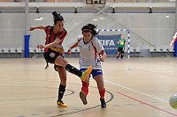 Futsal National Womens League at ASB Sports Centre, Wellington, New Zealand on Friday 24 February 2017.<br /> Photo by Masanori Udagawa<br /> www.photowellington.photoshelter.com.