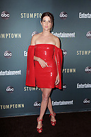 "LOS ANGELES - SEP 16:  Cobie Smolders at the ""Stumptown"" Premiere at the Petersen Automotive Museum on September 16, 2019 in Los Angeles, CA"