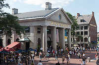 Quincy market in Boston, Massachusetts