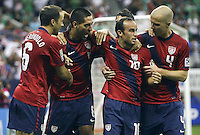 The USA defeated Panama 1-0 on a Clint Dempsey goal and Landon Donovan assist in the Semi-Final match of the CONCACAF 2011 Gold Cup, at Reliant Stadium, in Houston, Texas, Wednesday, June 22, 2011.