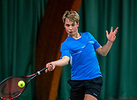 Wateringen, The Netherlands, December 4,  2019, De Rhijenhof , NOJK 14 and18 years,  Daan Meijer (NED)<br /> Photo: www.tennisimages.com/Henk Koster