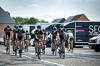 Lars van der Haar (NED/Telenet Lions) and team Telenet Lions pre race<br /> <br />  Heistse Pijl 2020<br /> One Day Race: Heist-op-den-Berg > Heist-op-den-Berg 190km  (UCI 1.1)<br /> ©kramon