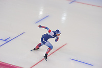 SPEEDSKATING: HAMAR: Vikingskipet, 28-02-2020, ISU World Speed Skating Championships, Sprint, 1000m Ladies, Angelina Golikova (RUS), ©photo Martin de Jong