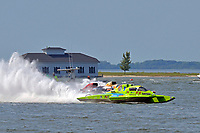 "Mathew Daoust, GP-9, Bert Henderson, GP-777 ""EMS Steeler"" and Marty Wolfe, GP-93 ""Renegade""           (Grand Prix Hydroplane(s)"