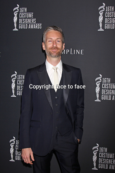 BEVERLY HILLS, CA - February 22: Michael Wilkinson at the 16th Costume Designers Guild Awards, Beverly Hilton, Beverly Hills, February 22, 2014.<br />