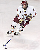 Brock Bradford - The Boston College Eagles and Ferris State Bulldogs tied at 3 in the opening game of the Denver Cup on Friday, December 30, 2005, at Magness Arena in Denver, Colorado.  Boston College won the shootout to determine which team would advance to the Final.