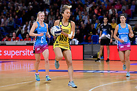 Pulse&rsquo; Mila Reuelu-Buchanan in action during the ANZ Premiership - Pulse v Steel at Te Rauparaha Arena, Porirua, New Zealand on Wednesday 30 May 2018.<br /> Photo by Masanori Udagawa. <br /> www.photowellington.photoshelter.com