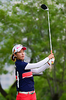 Chella Choi (KOR) watches her tee shot on 3 during round 3 of  the Volunteers of America Texas Shootout Presented by JTBC, at the Las Colinas Country Club in Irving, Texas, USA. 4/29/2017.<br /> Picture: Golffile | Ken Murray<br /> <br /> <br /> All photo usage must carry mandatory copyright credit (&copy; Golffile | Ken Murray)