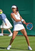 England, London, June 29, 2015, Tennis, Wimbledon, Qiang Wang (CHN)<br /> Photo: Tennisimages/Henk Koster