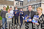 NEW PROSPECTUS: Staff and students at Listowel Community College with the new school prospectus: Kevin Beasley, Maria Fitzgerald, Donal Ó Súilleabháin, Paul Stack, Shannon O'Hanlon, Stephen Goulding (Deputy Principal), Carmel Kelly (Principal).