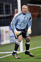 Kasey Keller...Kansas City Wizards were defeated 3-2 by Seattle Sounders at Community America Ballpark, Kansas City, Kansas.
