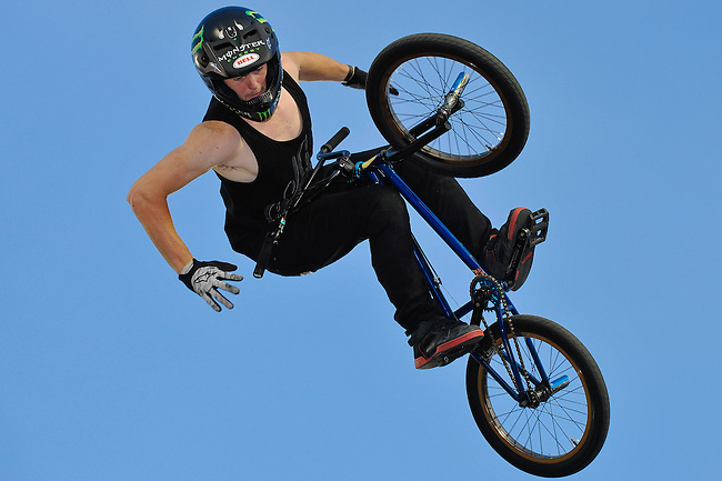 17 August, 2012: Vince Byron competes in the Bmx Final: Round 2 of the Pantech Beach Championships in Ocean City, MD. Vince finished 2nd in the event.