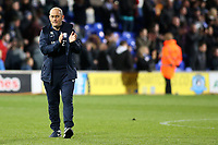 Preston North End manager Alex Neil  applauds the fans at the final whistle <br /> <br /> Photographer David Shipman/CameraSport<br /> <br /> The EFL Sky Bet Championship - Ipswich Town v Preston North End - Saturday 3rd November 2018 - Portman Road - Ipswich<br /> <br /> World Copyright &copy; 2018 CameraSport. All rights reserved. 43 Linden Ave. Countesthorpe. Leicester. England. LE8 5PG - Tel: +44 (0) 116 277 4147 - admin@camerasport.com - www.camerasport.com